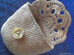 crochelinhasagulhas: Porta níquel de crochê