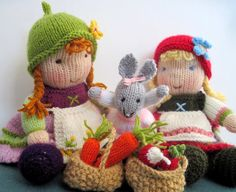 Flutterby Patch: Bunny's lunch - free pattern