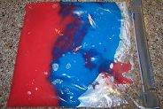 Painting- Without the Mess!  It's all in a ziplock bag