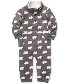 Carter's Baby Coverall, Baby Boys Polyester Micro-Fleece Jumpsuit - Kids Baby Boy (0-24 months) - Macy's