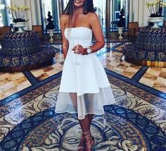 Simple White Satin Short Party Dresses, White Homecoming Dresses,Graduation Party Dresses,451