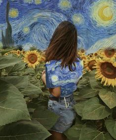 Van Gogh and his flowers. Made with PicsArt by Van Gogh and his flowers. Made with PicsArt by Art Hoe Aesthetic, Aesthetic Painting, Aesthetic Outfit, Aesthetic Drawing, Aesthetic Clothes, Aesthetic Collage, Art Sketches, Art Drawings, Drawing Art