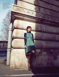 Song Hye Kyo in Dior for ELLE Korea June 2015