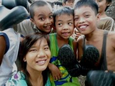 """""""Soles4Souls Showed These Children That Someone Cares""""  The Philippines. March 2013."""