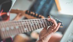 guitar, macro photography