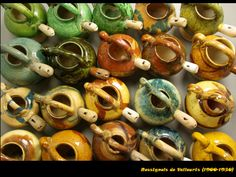 Rossignols de Vallauris. Site: Sifflets en terre cuite