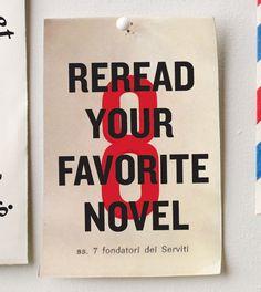 #8: Reread your favorite novel