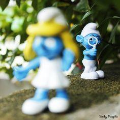 I see you  #toyphotography #miniatur #figure #smurf #blue #like #nicepic #photography
