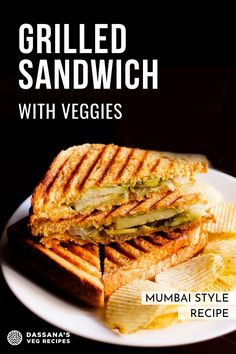 This Indian street food favorite is filled with spiced cilantro chutney and delicious vegetables, then grilled to perfection. If you're in the market for a new veggie laden sandwich, try this authentic Indian Veg Grilled Sandwich recipe today! This is another easy and healthy veg grilled sandwich recipe that can be made for a quick breakfast and brunch. #vegsandwich #grilledsandwich #veggiesandwich #sandwichlover Grilled Sandwich Recipe, Veg Sandwich, Sandwich Recipes, Easy Appetizer Recipes, Snack Recipes, Healthy Indian Snacks, Veg Recipes Of India, Cilantro Chutney, Vegetarian Breakfast Recipes