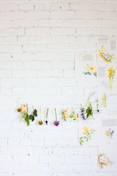 decorate with flowers | gardenista