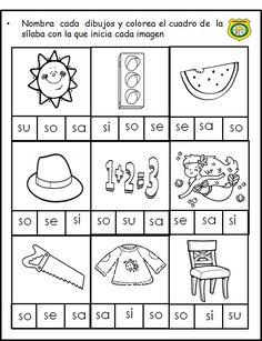 Abecedario - corta y pega / Spanish ABC cut and paste Spanish Worksheets, Spanish Teaching Resources, Science Worksheets, Kindergarten Worksheets, Spanish Lesson Plans, Spanish Lessons, Learn Spanish, Learning Sight Words, Reading Projects