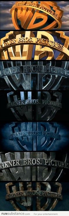 Warner Bros' logo evolution on Harry Potter films