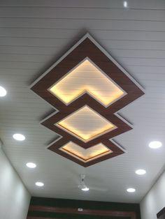 Ceiling Light Design, Beautiful Ceiling Designs, House Ceiling Design, Ceiling Design Living Room, Ceiling Installation, Pvc Ceiling, Ceiling Design, Pvc Ceiling Panels, Pvc Ceiling Design