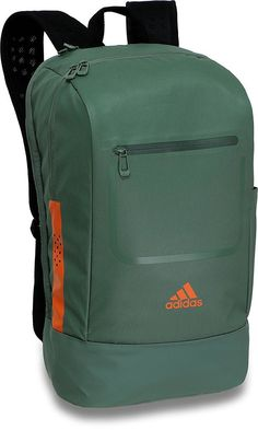 47e611b5cd6 adidas Training Backpack School Colleage Hiking Outdoor Sport Bag Green  S99941   eBay