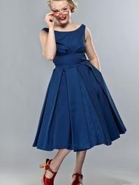 the midsummer dream dress. Navy pique 157