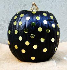 Damsel in Dior DIY pumpkins    How to Paint Pumpkins    #halloween