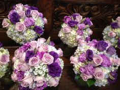 De La Flor wedding created by Dana. Lovely Lavenders