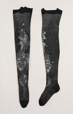 French silk stockings 1900-1910