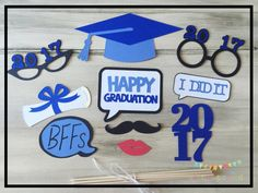 Graduation Props Graduation Party Decorations by ALittleBitOfAud