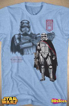 Force Awakens Phasma T-Shirt: Star Wars Mens T-Shirt