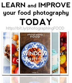 LEARN and IMPROVE your food photography
