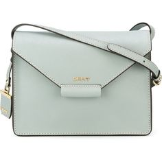 DKNY Envelope Style Crossbody Bag (6.000 CZK) ❤ liked on Polyvore featuring bags, handbags, shoulder bags, dkny shoulder bag, dkny, dkny handbags and dkny purses