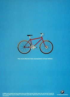 BICYCLE - BMW Print Ad WCRS London