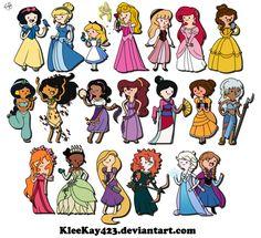 Disney Princesses Transform Into Adventure Time Characters