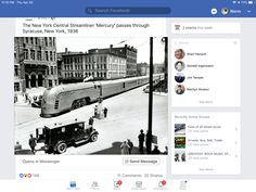 New York Central Railroad, Events This Week