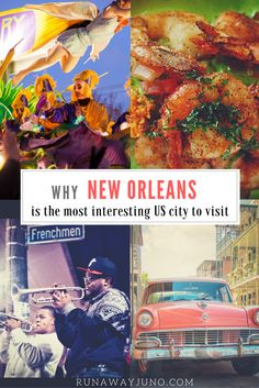 New Orleans is well-known for music, food, history, & culture. Cities of the South do historic & charming particularly well. New Orleans is no exception. via @runawayjuno