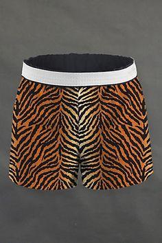 Meow :) Tiger shorts