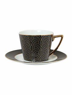Biba Deco Cup and Saucer £8.40