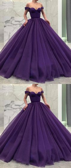 Purple Pro dresses ••BALL GOWN