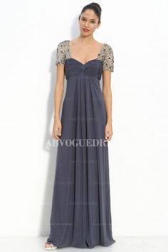 Empire Sweetheart Floor-length Chiffon Mother of the Bride Dress