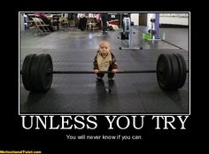 unless you try