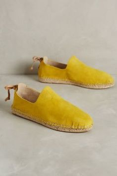 House of Harlow Callan Espadrilles Yellow