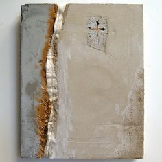 Marlies Hoever (Santa Cruz CA) - concrete, mixed media