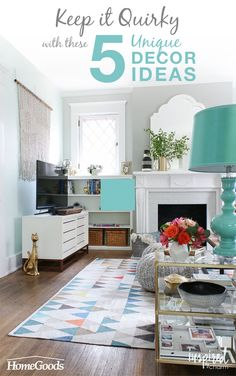 Keep It Quirky With These 5 Unique Décor Ideas. Home Decor InspirationLiving  Room ...