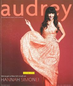 Vieta in the April/May 2012 issue of Audrey Magazine.