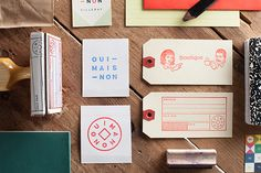 Brand Identity Works by Veronique Lafortune | Abduzeedo Design Inspiration