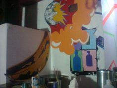Pintando a Warhol en un bar platense