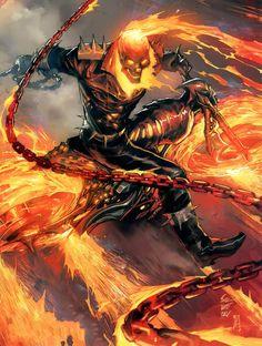 Banshee Comics | John Blaze (Earth-1610) - Marvel Comics Database - visit to grab an unforgettable cool 3D Super Hero T-Shirt!