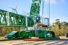Liebherr - LR 11350 of BMS Heavy Cranes, Denmark