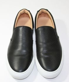 e641682e15b Greats Wooster Brooklyn Nero Black Slip On Leather Shoes Italy Women s 8 EU  38  fashion