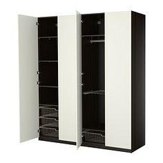 ПАКС Гардероб+внутр элементы - стандартные петли - IKEA