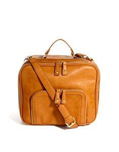 ASOS Bowler Bag With Front Zip Pocket