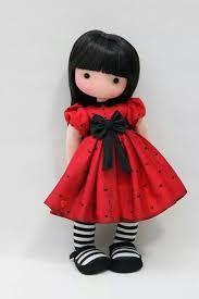 Resultado de imagen para moldes de muñecas de trapo Que aparezca con la imagen de la muñeca al lado