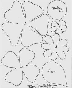 Image result for Tin Can Flower Patterns Poppy Template, Felt Flower Template, Flower Applique, Printable Flower, Printable Paper, Tin Can Flowers, Felt Flowers, Fabric Flowers, Applique Templates