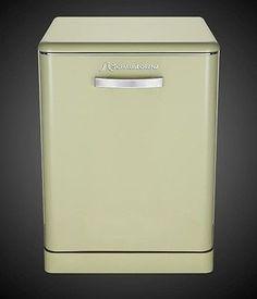 Retro dishwasher-Schaub Lorenz GSP14SGK A light green New