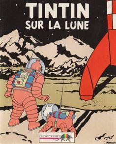 Tintin sur la lune ...